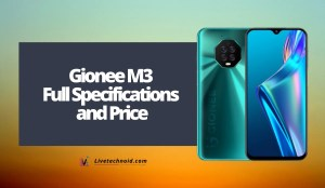 Gionee M3 Full Specifications and Price