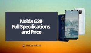 Nokia G20 Full Specifications and Price