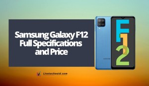 Samsung Galaxy F12 Full Specifications and Price