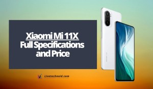 Xiaomi Mi 11X Full Specifications and Price