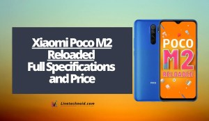 Xiaomi Poco M2 Reloaded Full Specifications and Price
