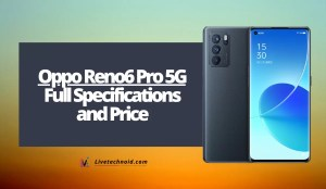 Oppo Reno6 Pro 5G Full Specifications and Price