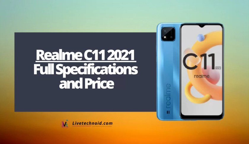 Realme C11 2021 Full Specifications and Price
