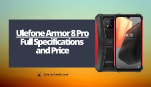 Ulefone Armor 8 Pro Full Specifications and Price