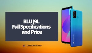 BLU J9L Full Specifications and Price