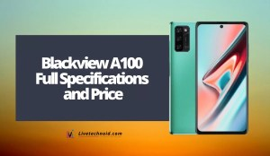 Blackview A100 Full Specifications and Price
