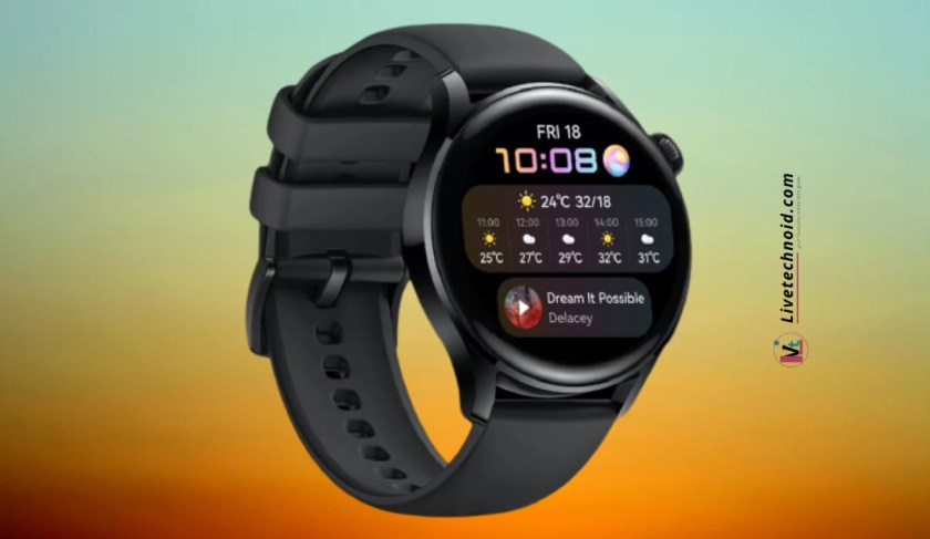 Huawei Watch 3 Full Specifications and Price