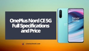 OnePlus Nord CE 5G Full Specifications and Price