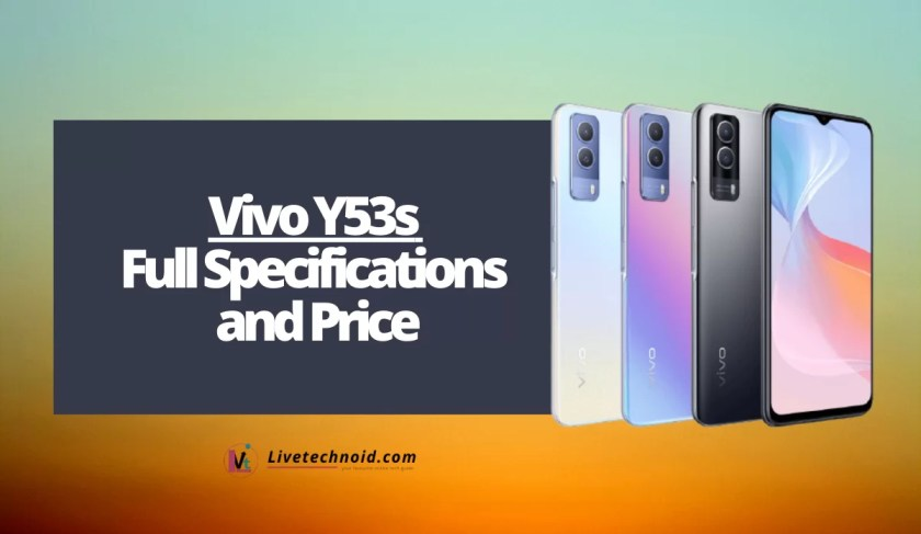 Vivo Y53s Full Specifications and Price