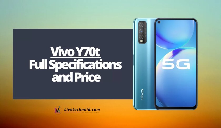 Vivo Y70t Full Specifications and Price