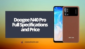 Doogee N40 Pro Full Specifications and Price