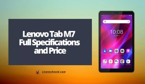 Lenovo Tab M7 (3rd Gen) Full Specifications and Price