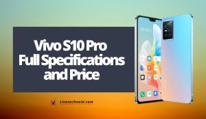 Vivo S10 Pro Full Specifications and Price