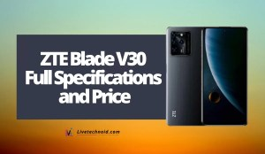 ZTE Blade V30 Full Specifications and Price