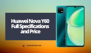 Huawei Nova Y60 Full Specifications and Price