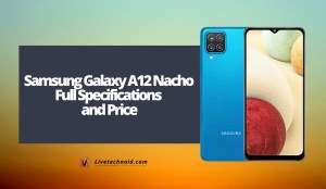 Samsung Galaxy A12 Nacho Full Specifications and Price