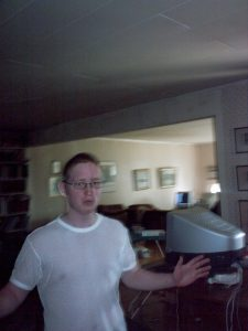 Picture of me in 2003 at a LAN.