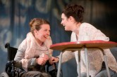Karen Traynor and Lauren Kellegher in Rendezvous (Anti-Gravity by Holly Reed Macrae) at Live Theatre