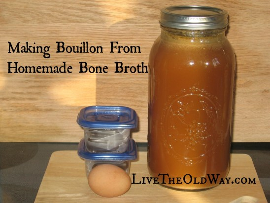 How to make homemade bouillon cubes