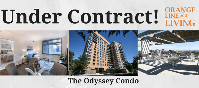 the odyssey condo arlington sold under contract