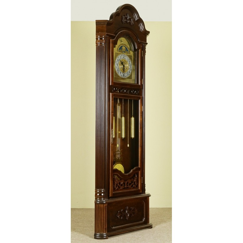 desk chair height plastic folding chairs lowes corner grandfather clock longcase pendulum - livetime.pl