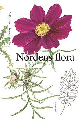 Bokomslaget till Nordens flora.