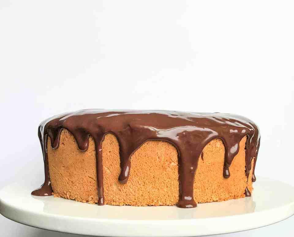 Peanut Butter Angel Food Cake