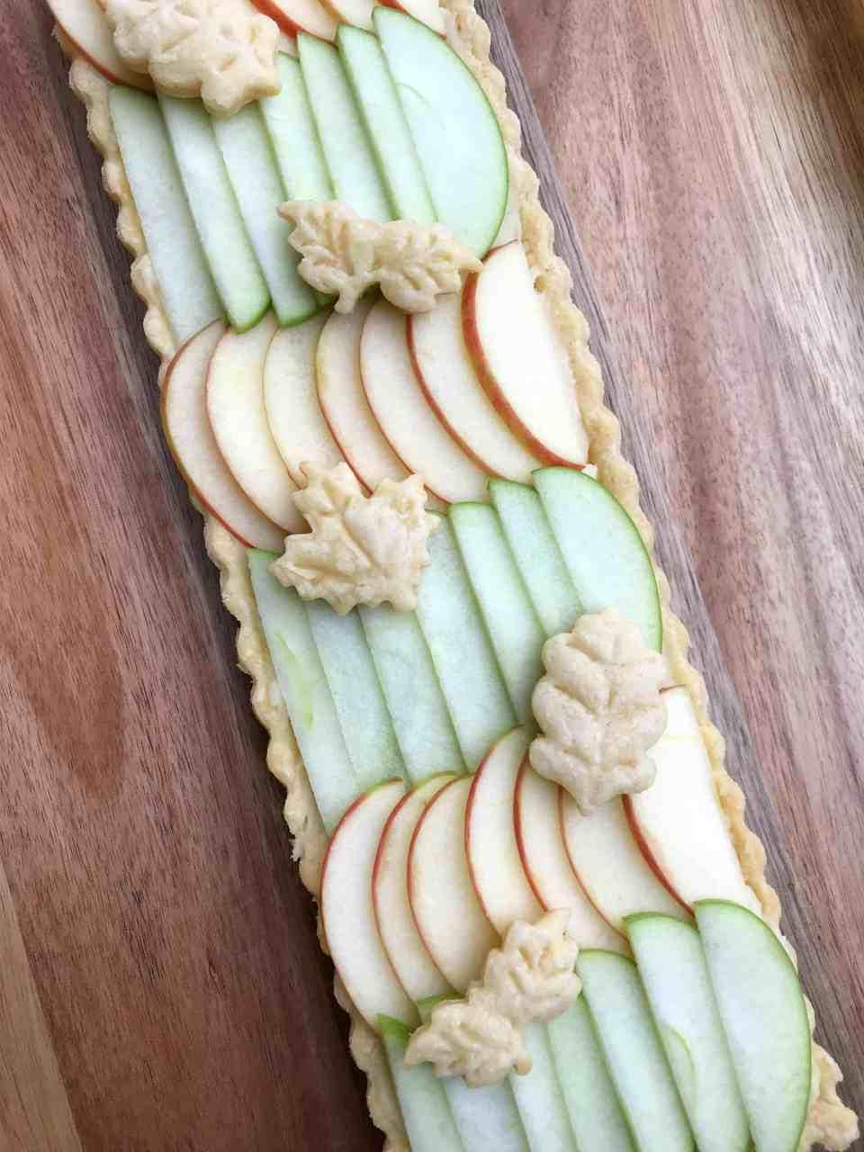 Apple and Maple Custard Tart