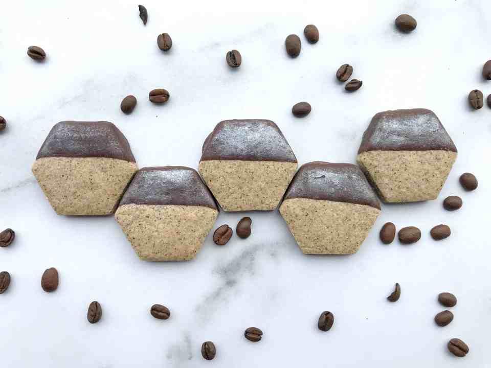 chocolate espresso shortbread
