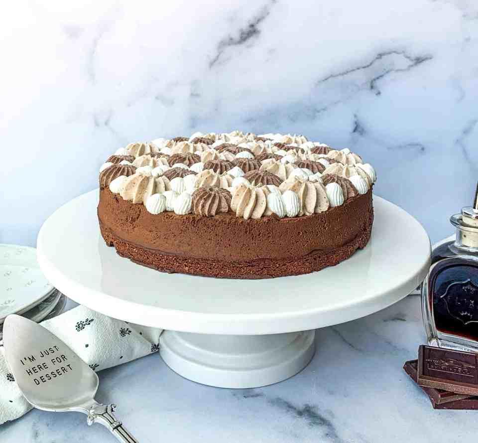 Kahlua Brownie Pie