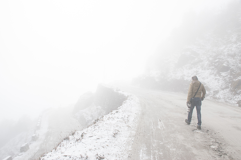 Heading into the unknown - Firoz bhai @ Sela Pass