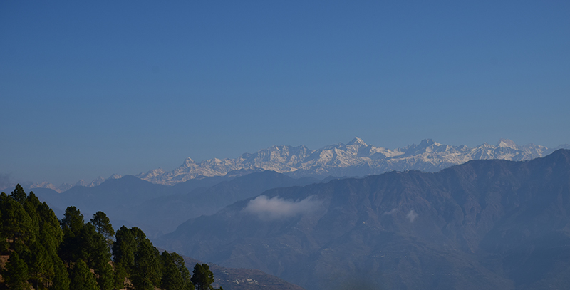 Last look @ mighty Himalayas
