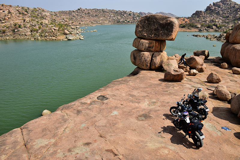 Bikers @ Sanapur lake