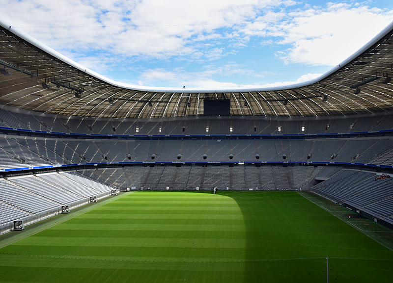 Inside Allianz Arena