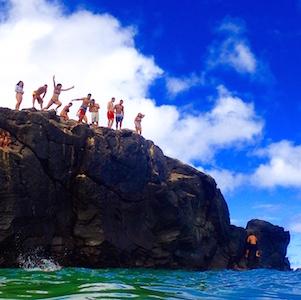 North Shore Beach Bus fun, Oahu