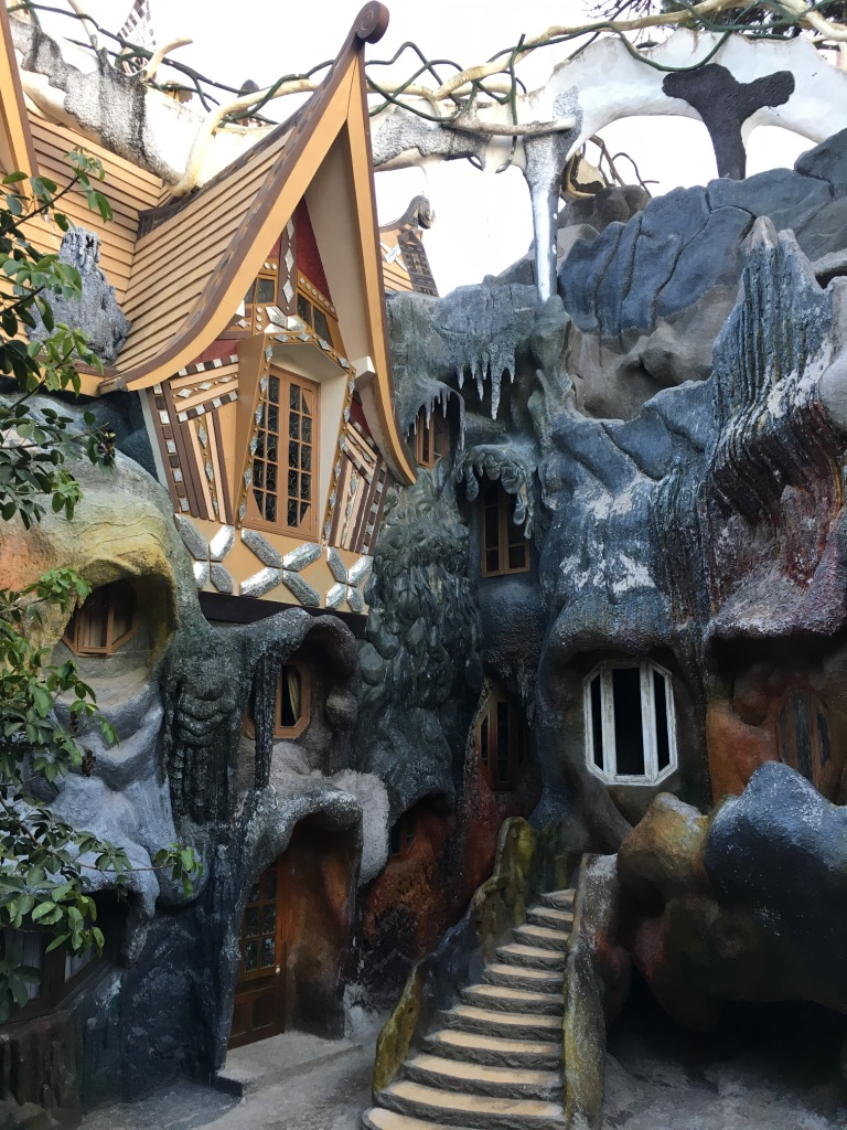 A Night at the Crazy House in Dalat, Vietnam