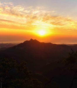 Sunrise from Dino Ridge 3
