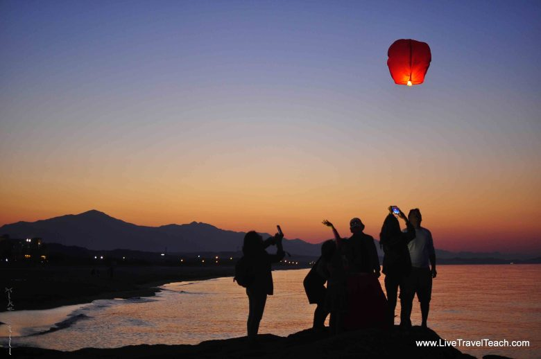 7 Sunset Lanterns