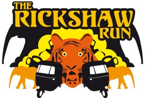 Rickshaw Run logo designed by Jonathan Gregory, November 2006.