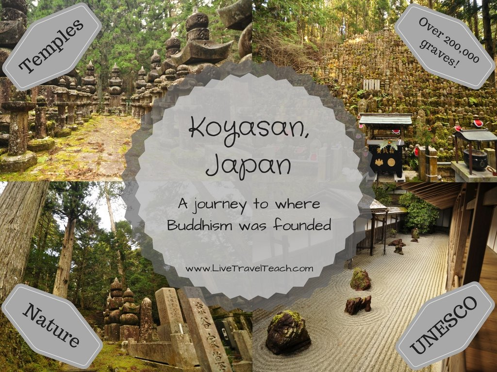 Koyasan, Japan - Where Buddhism was Founded