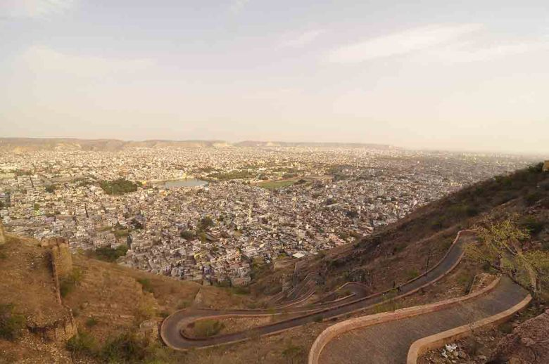 Sunset at Narhargarh Fort