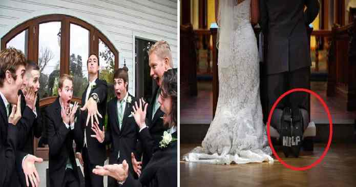 18 cupluri care cu siguranta s-au ales cu cele mai amuzante fotografii de la nunta
