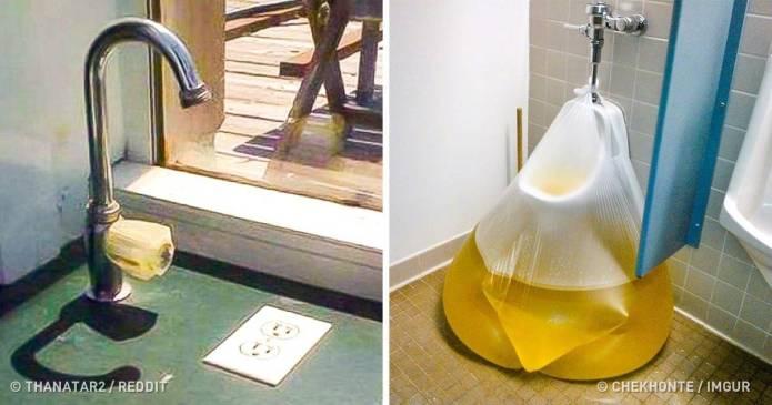 19 instalații care ar trebui aruncate în toaletă