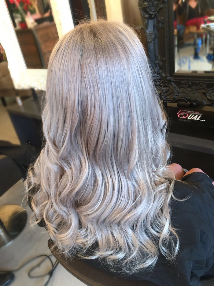 London Hairdressers Silver Hair Colour Trend Live True