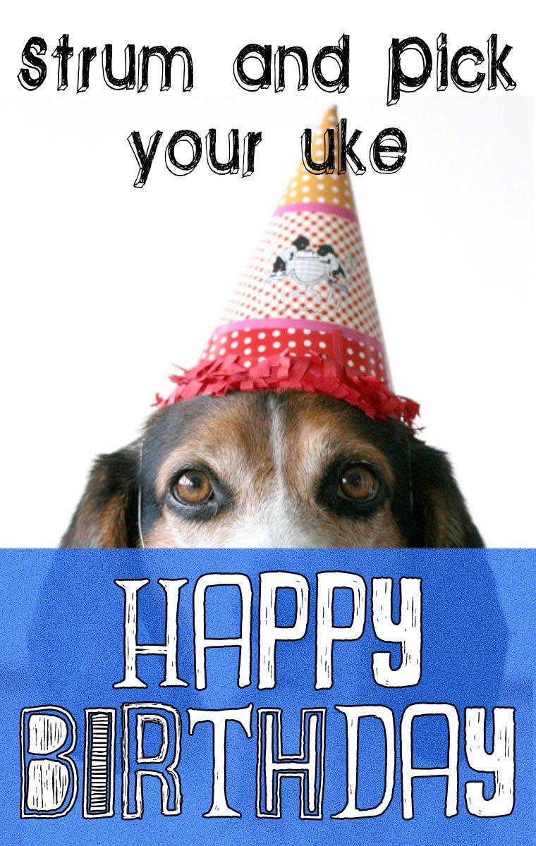 Happy Birthday Ukulele Picking