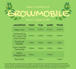 2021 growmobile schedule