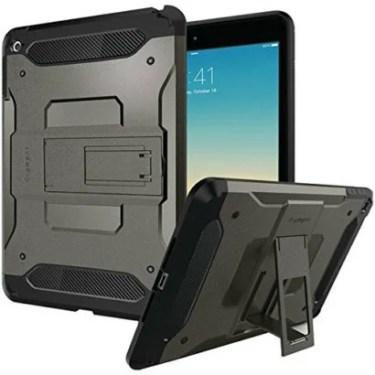 【Spigen】ガッチリ守りたい!米軍MIL規格取得のiPad mini4ケース