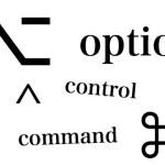 Macのショートカットに使う謎の記号の意味を解説する