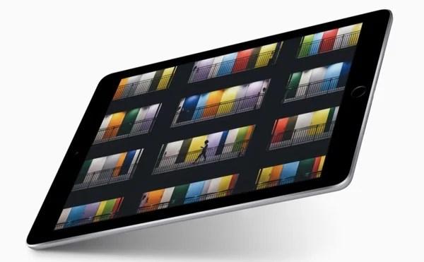 分厚くなった新型iPad