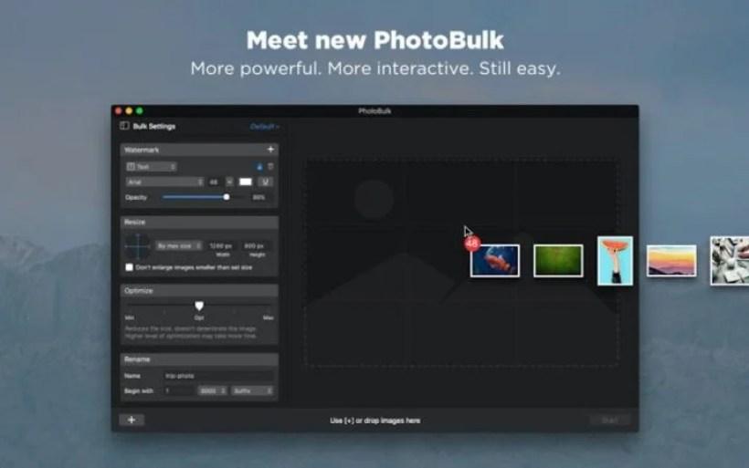 PhotoBulk 一括画像変種アプリ